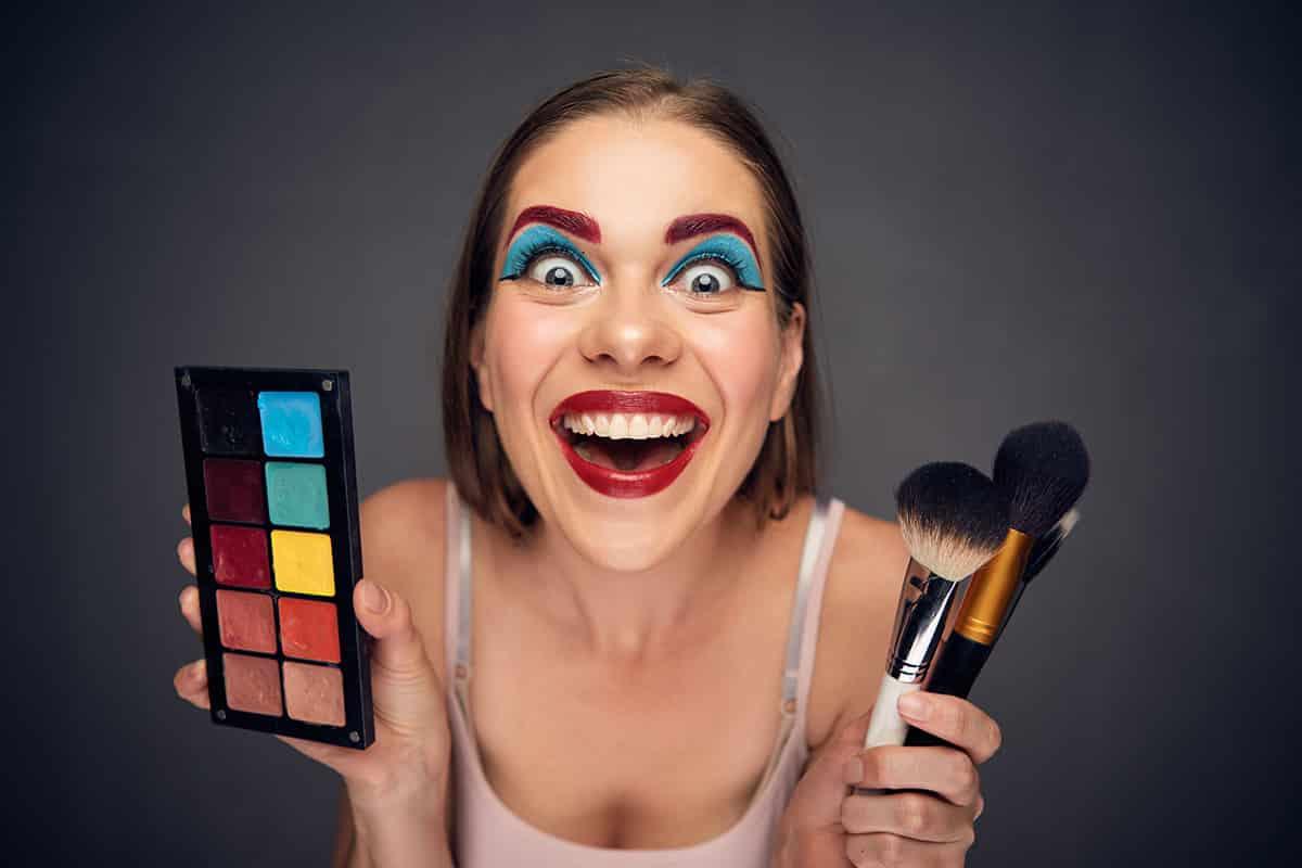 Extrémní makeup | Hedonist