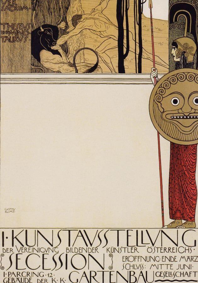 Gustav Klimt   plakát